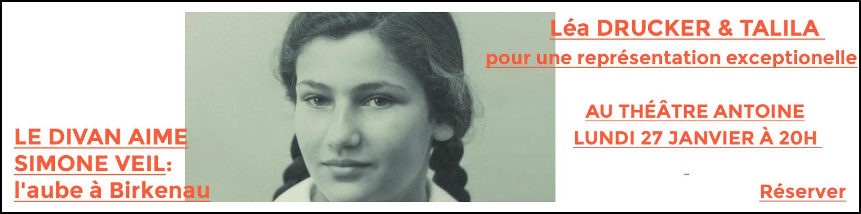 Le Divan hors les murs-Simone Veil au Théâtre Antoine !