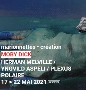 Spectacle Moby Dick u théâtre Le Monfort