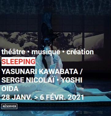Spectacle Sleeping au Théâtre Le Monfort
