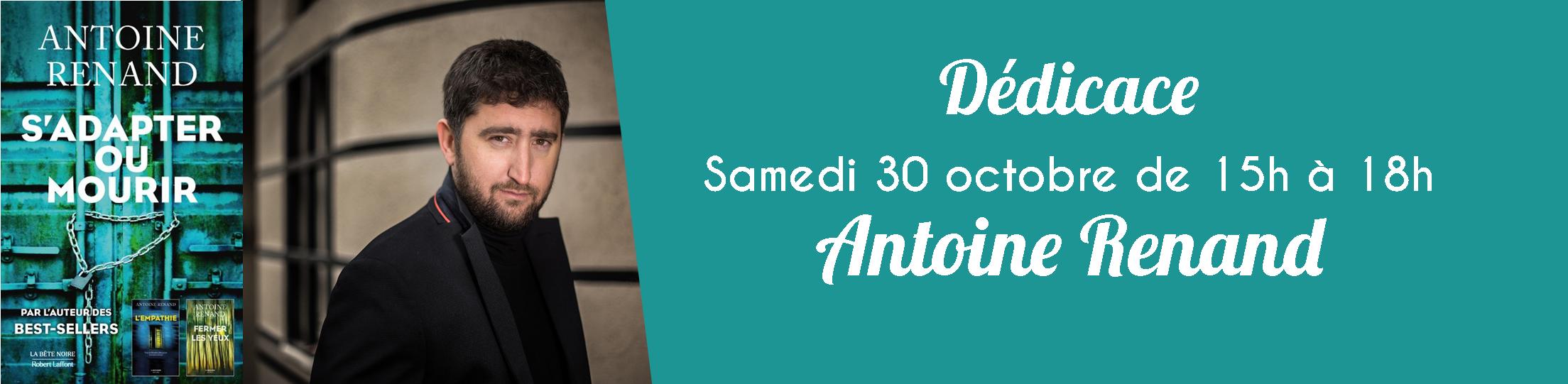 Dédicace : Antoine Renand