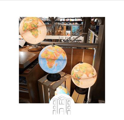 Globes, cartes anciennes et cartes en relief