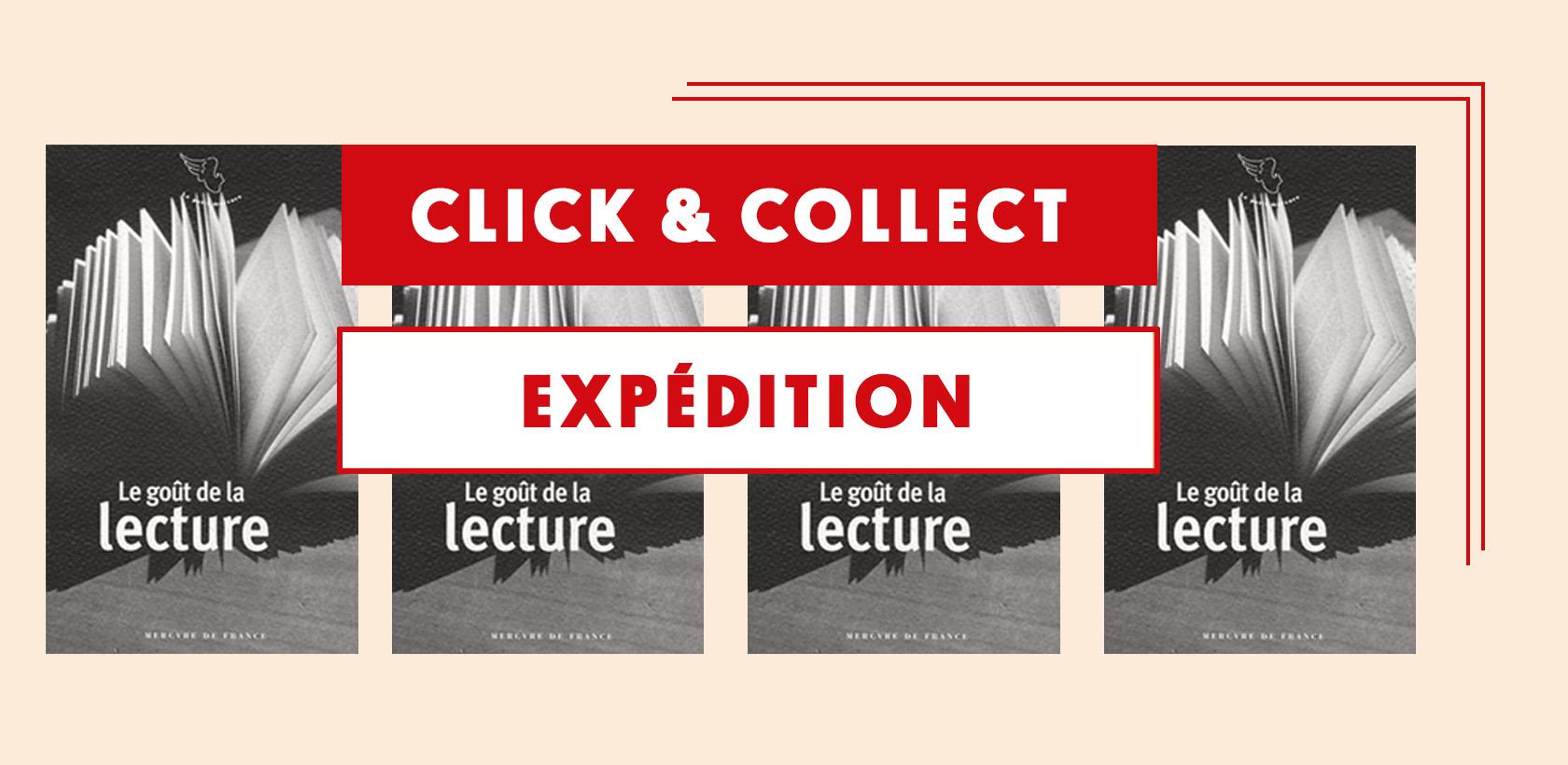 Click & Collect et expédition toujours actifs !