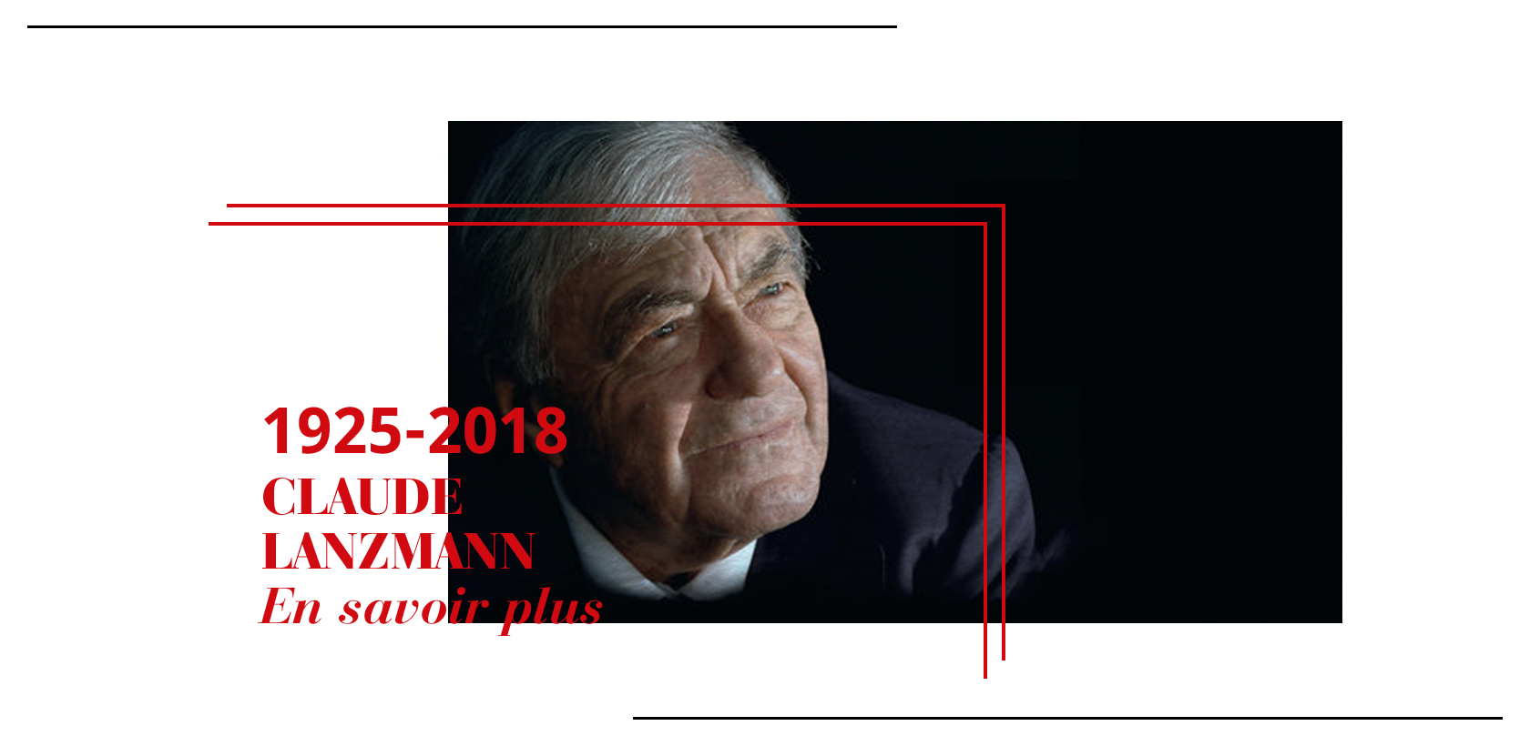 Hommage à Claude Lanzmann