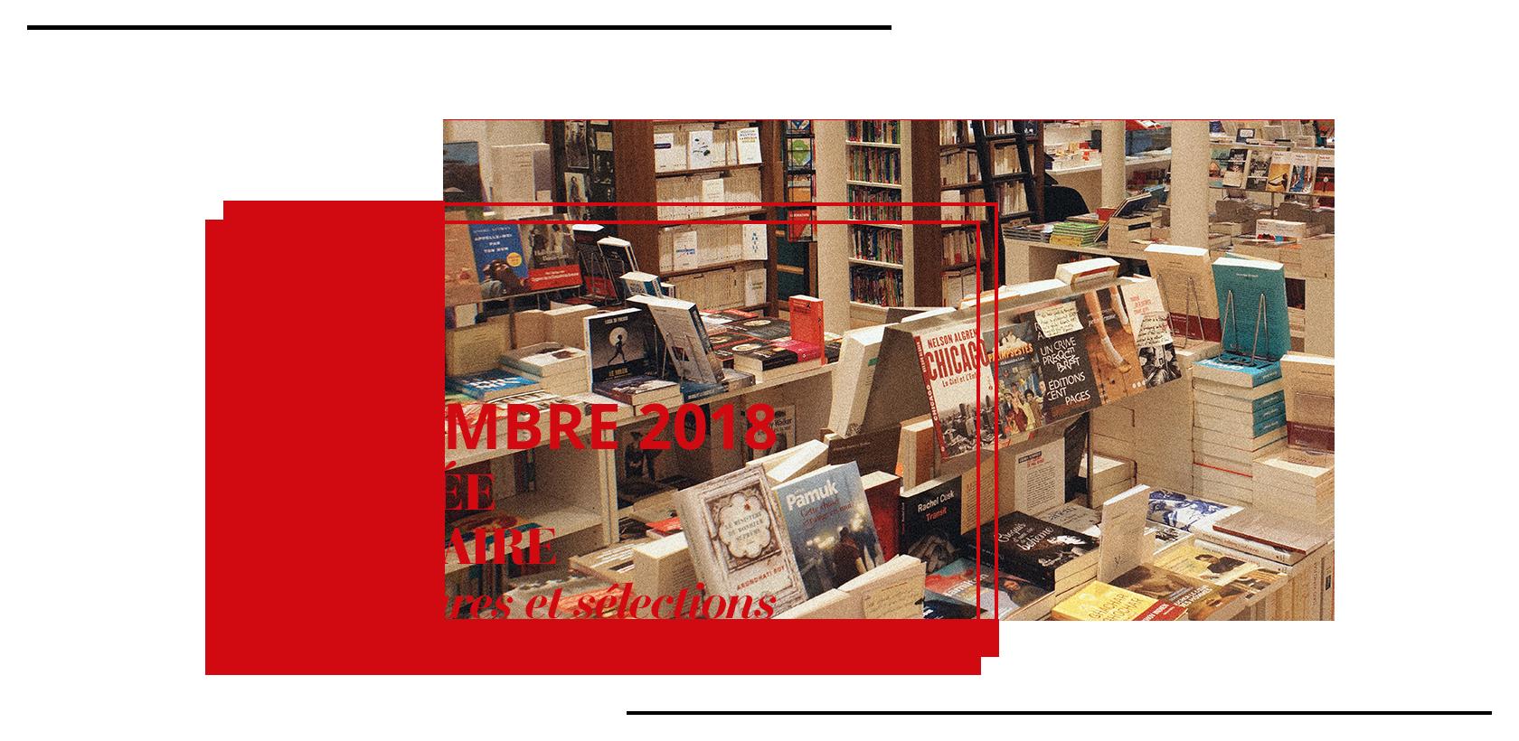 Sélection rentrée littéraire librairie Gallimard