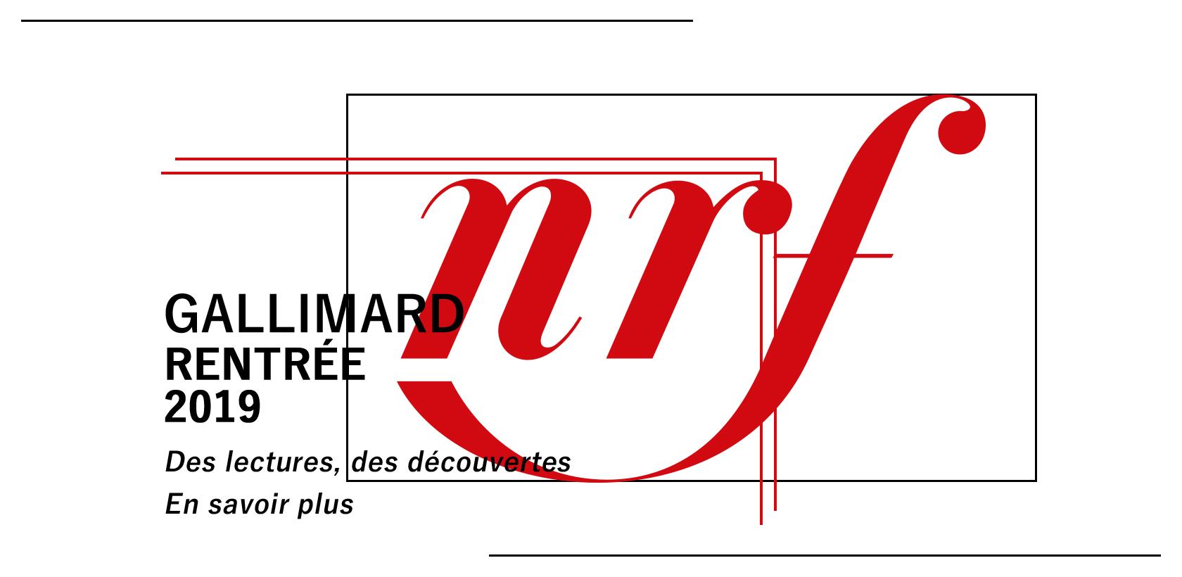 Rentrée littéraire Gallimard