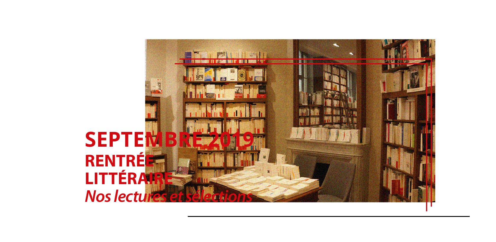 Rentrée littéraire 2019 à la librairie Gallimard