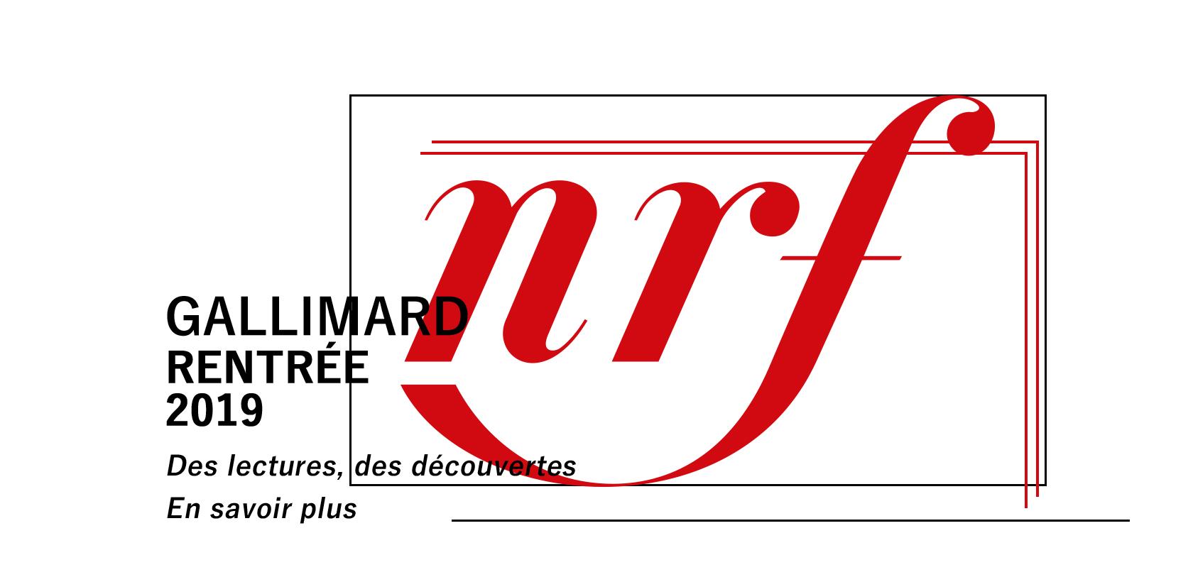 Rentrée Gallimard 2019 à la librairie Gallimard