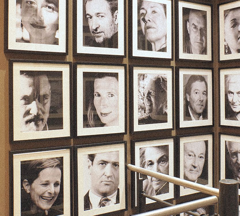 Wall of fame - Auteurs Gallimard