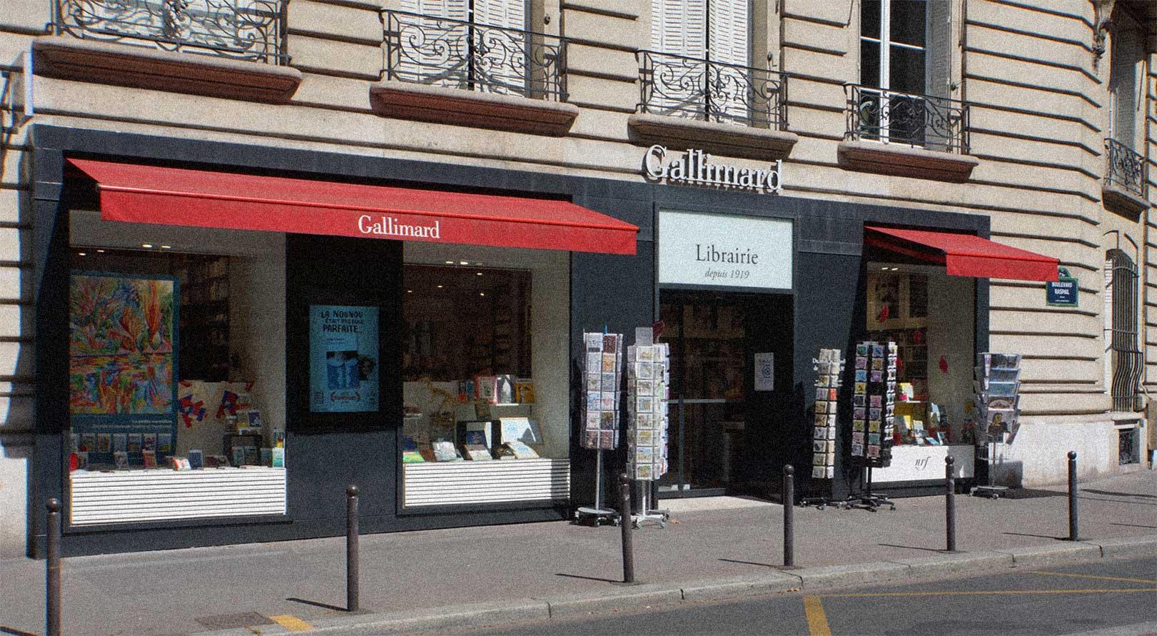 Librairie Gallimard Paris