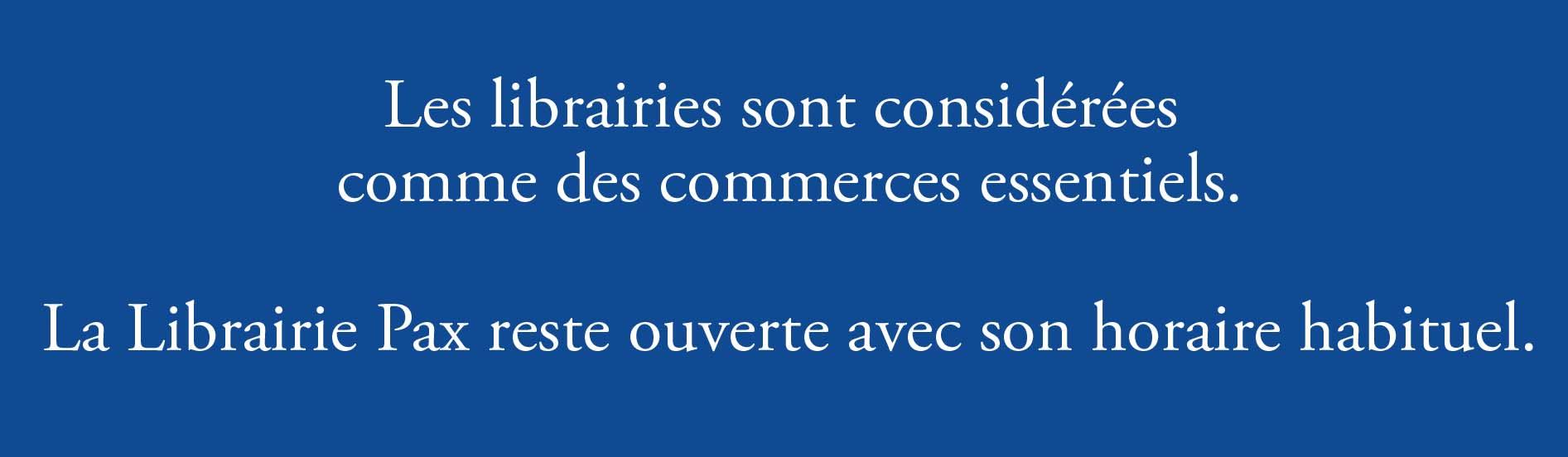 librairie ouverte