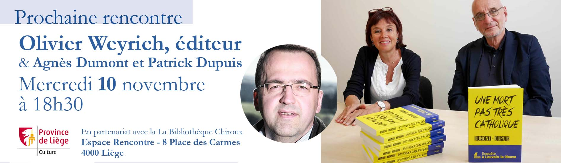 Rencontre avec Olivier Weyrich éditeur