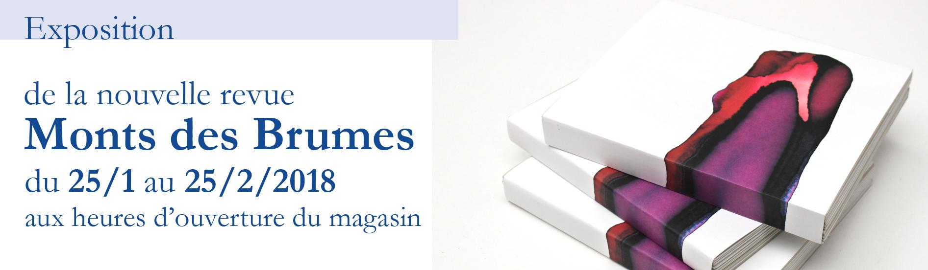 Exposition de la Revue Monts des Brumes bis