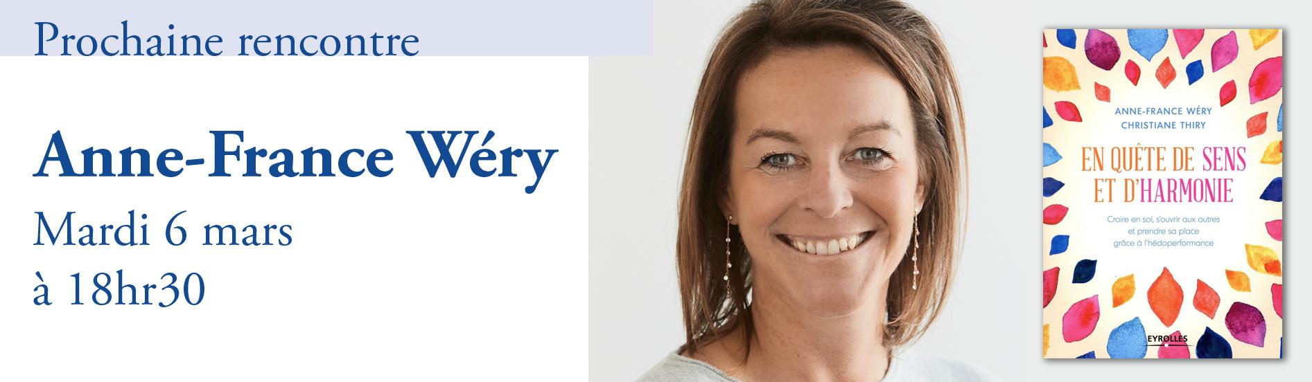 Rencontre avec Anne-France Wéry