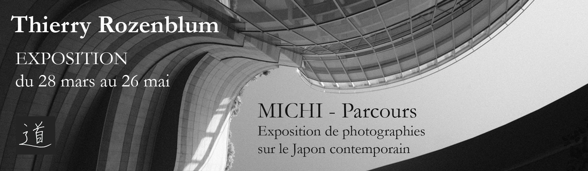 Exposition de photographies MICHI - parcours