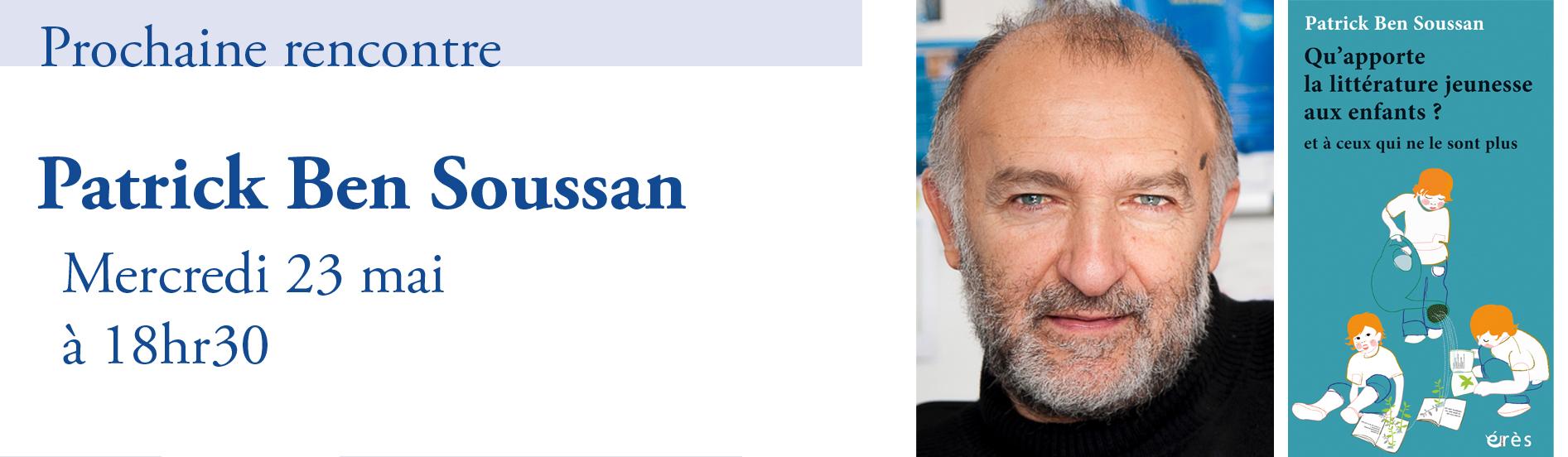 Rencontre avec Patrick Ben Soussan