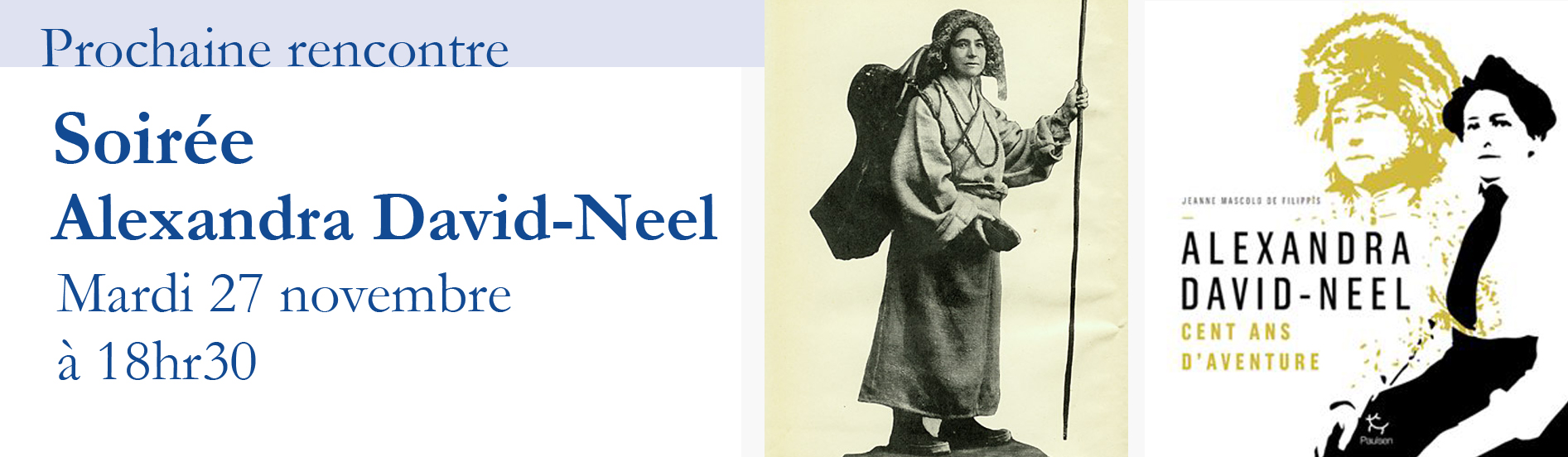 Soirée autour de Alexandra David-Neel