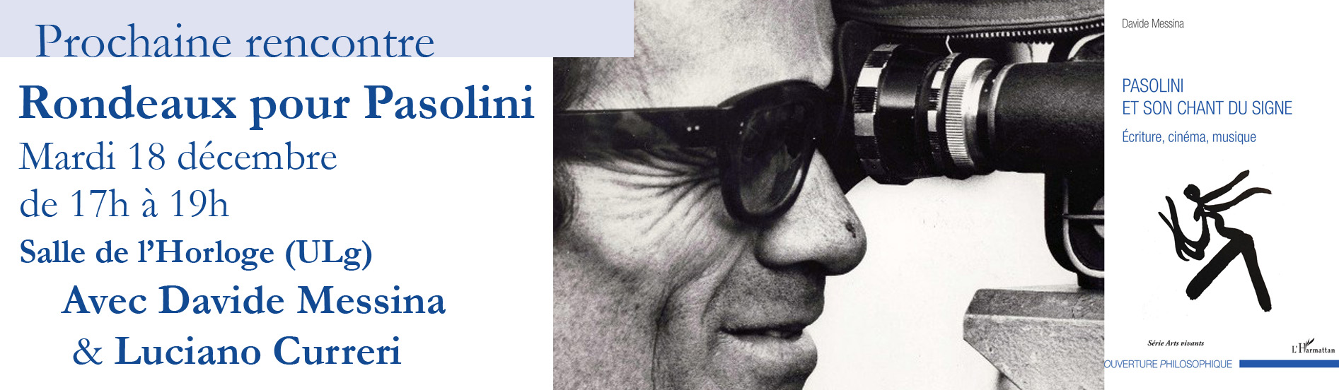 Rencontre débat autour de Pasolini