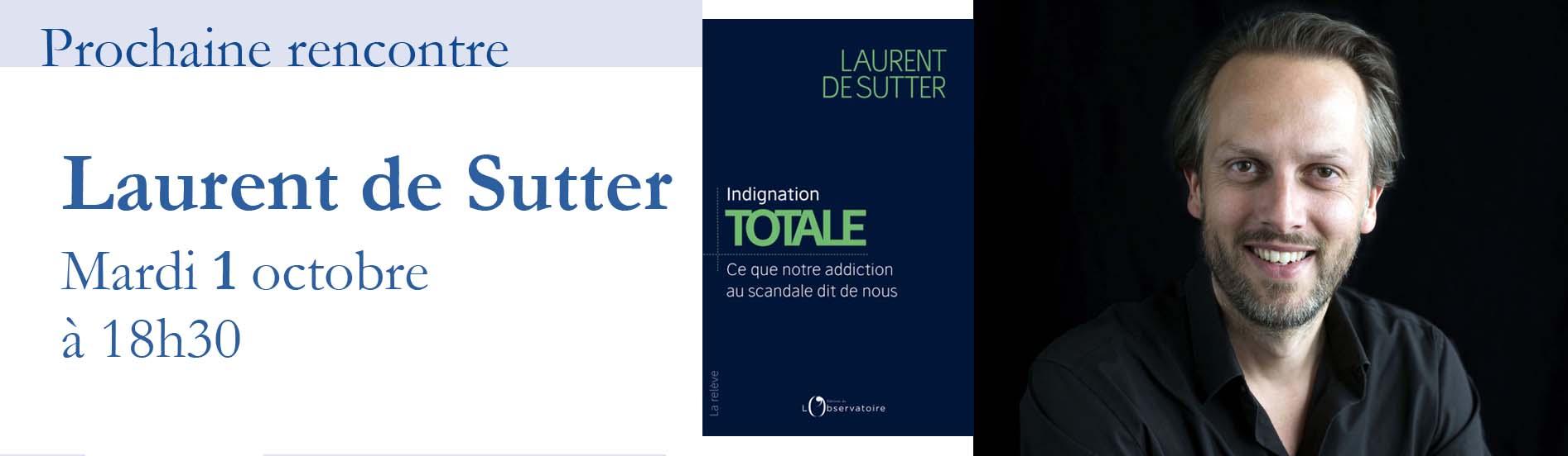 Rencontre avec Laurent de Sutter
