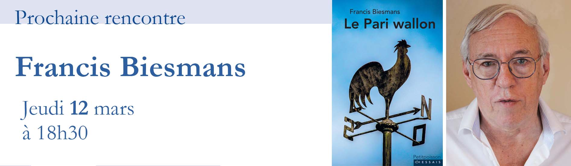 Rencontre avec Francis Biesmans