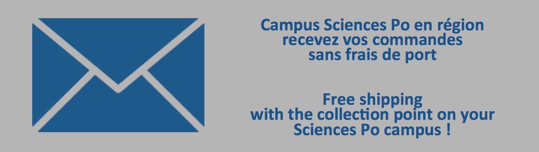 Frais de port offerts campus Sciences Po