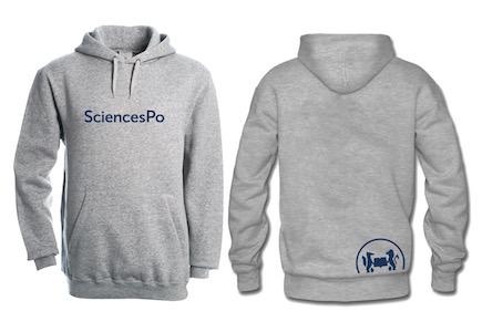Sweat grey Sciences Po
