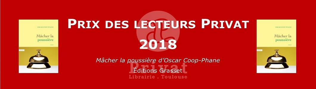 Prix des Lecteurs Privat 2018