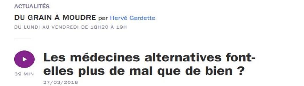 Médecines alternatives