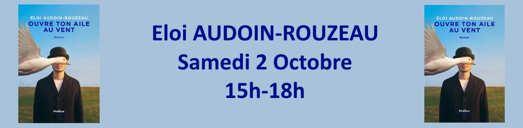 Eloi Audoin-Rouzeau en dédicace