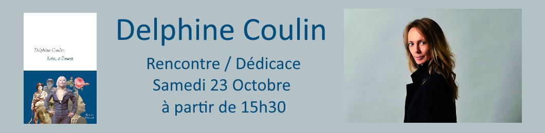 Rencontre / Dédicace avec Delphine Coulin