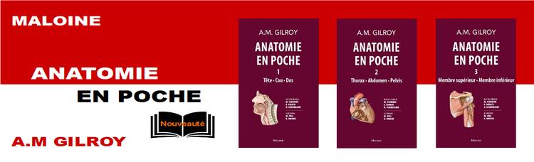 Anatomie de poche GILROY