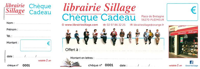 Chèque cadeau Sillage
