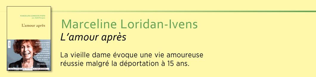 L'amour après - Marceline Loridan-Ivens