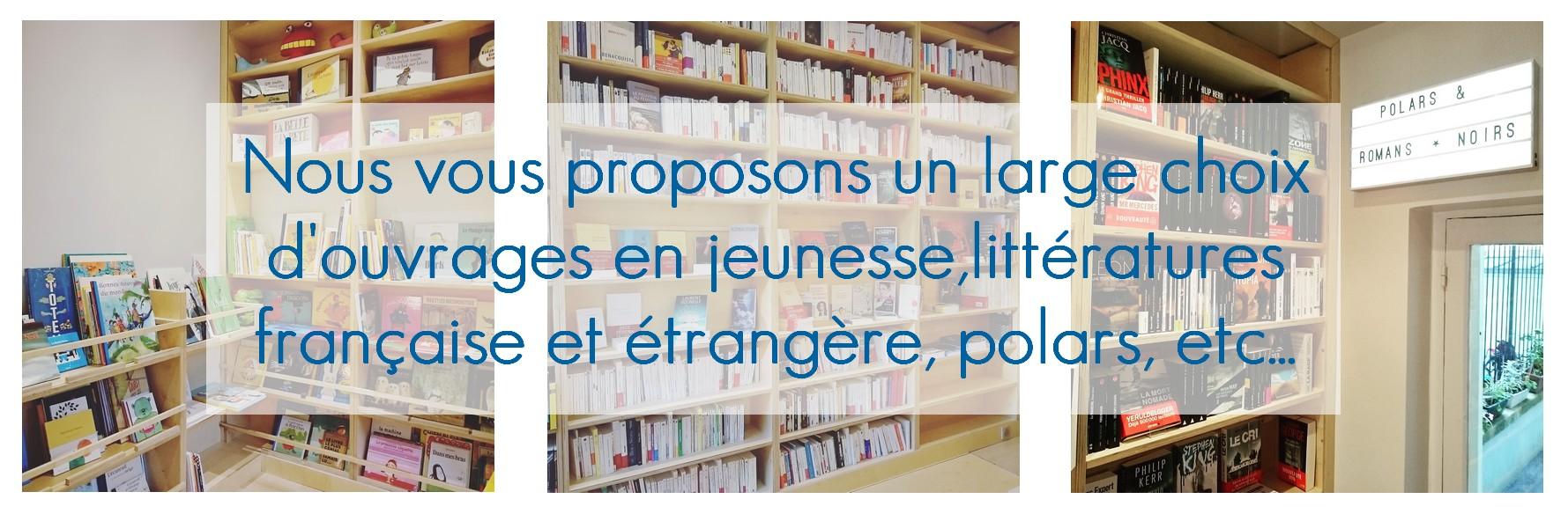 L'assortiment - Librairie Paris 17 qaurtier Pereire Terne Maillot Champerret