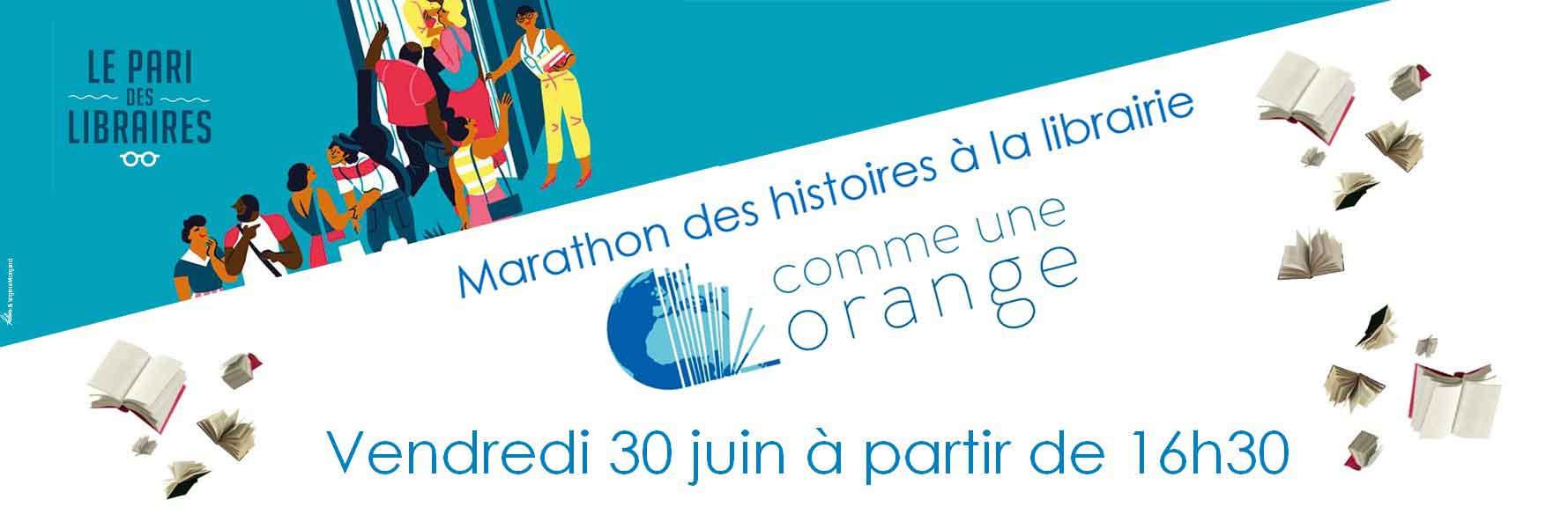Participation au Pari des libraires - Marathon de lecture d'histoires