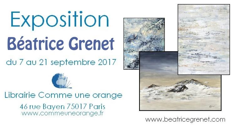 Exposition des peintures de Béatrice Grent