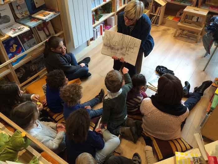Lecture d'histoires aux enfants à Comme une orange - mercredi 16h45