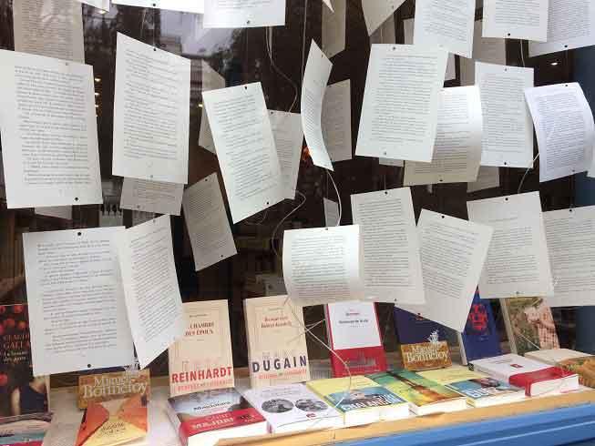 Rentrée littéraire Comme une orange librairie Paris 17