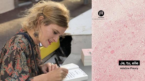 Rencontre Adeline Fleury Librairie Comme une orange