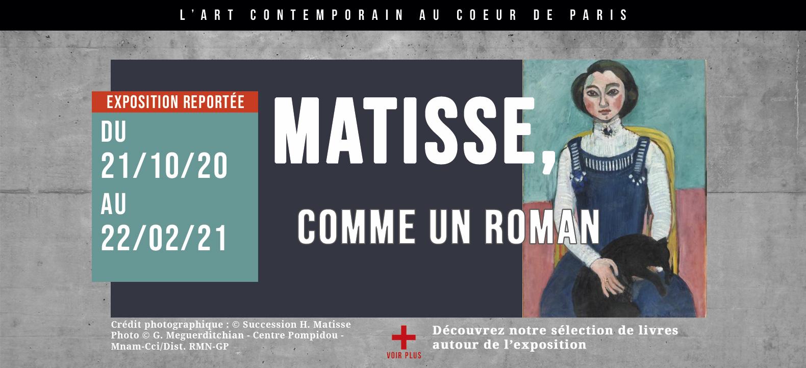 Matisse , comme un roman