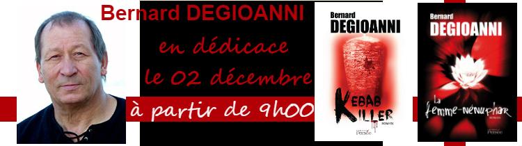 Dédicace Bernard Degioanni