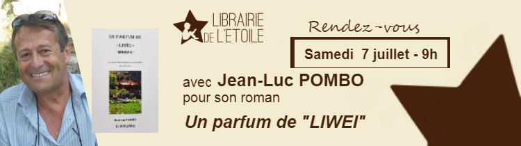 Dédicace Jean luc Pombo