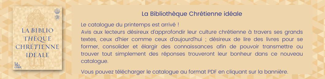 Catalogue religieux 2021