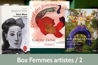 Box Femmes artistes 2