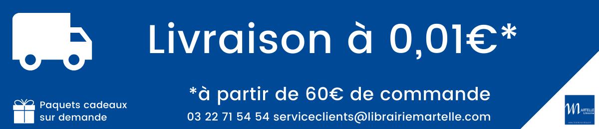 Livraison à 0,01€ à partir de 60€ de commande