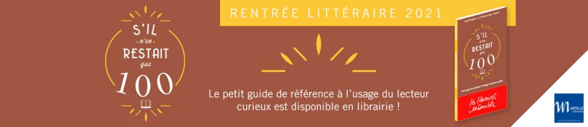 Guide Rentrée littéraire 2021