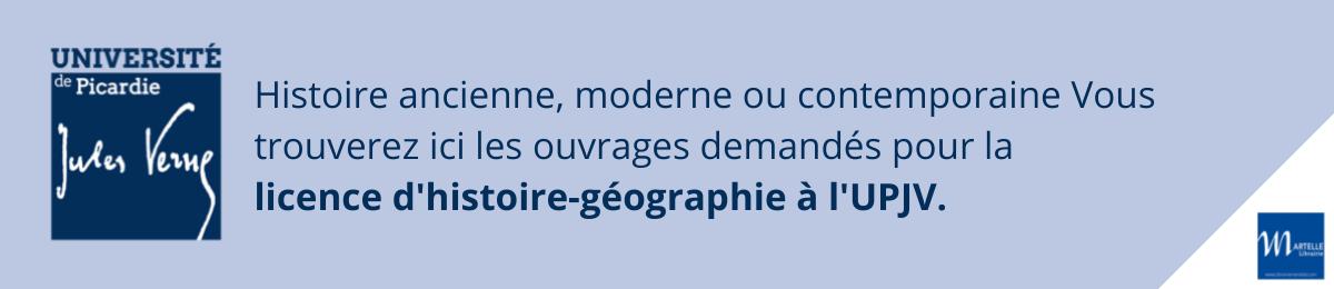 Licence histoire-géographie UPJV