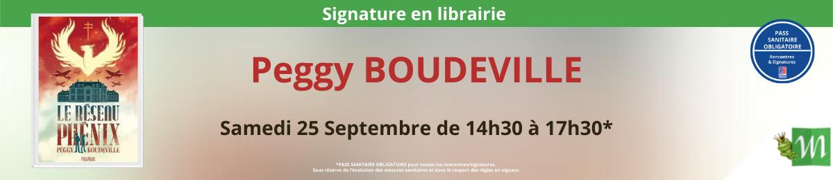 Signature de Peggy BOUDEVILLE