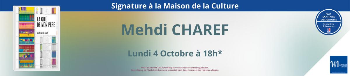 Signature de Mehdi Charef