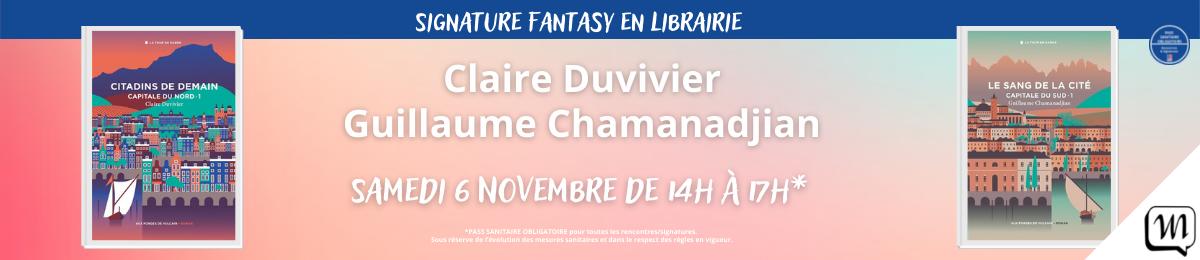 Signature Fantasy de Guillaume Chamanadjian et Claire Duvivier