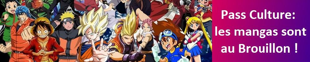 Pass Culture: les mangas sont au Brouillon!